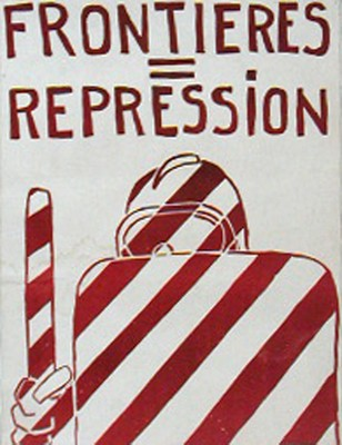 Las Fronteras Son Represión