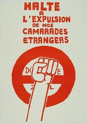 Alto a la Expulsión de los Camaradas Extranjeros
