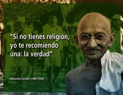 Si no tienes Religión, yo te recomiendo una: la Verdad.